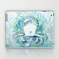 Crab tangling Laptop & iPad Skin