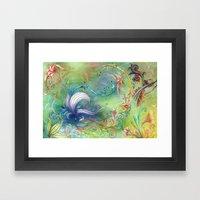 Floral High Framed Art Print