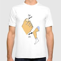 Antonio Mens Fitted Tee White SMALL