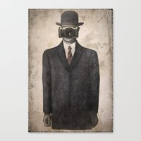 Son Of Photographer Canvas Print