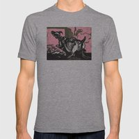 Sheep in Labor Mens Fitted Tee Athletic Grey SMALL