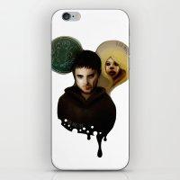 The Master & The BadWolf iPhone & iPod Skin