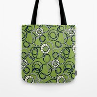 Honolulu hoopla green Tote Bag