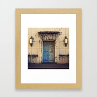 Doors Are Made To Be Ope… Framed Art Print