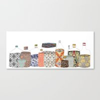 Bottled Happiness Canvas Print