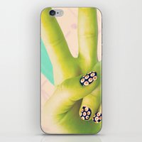 Peace Be With You iPhone & iPod Skin
