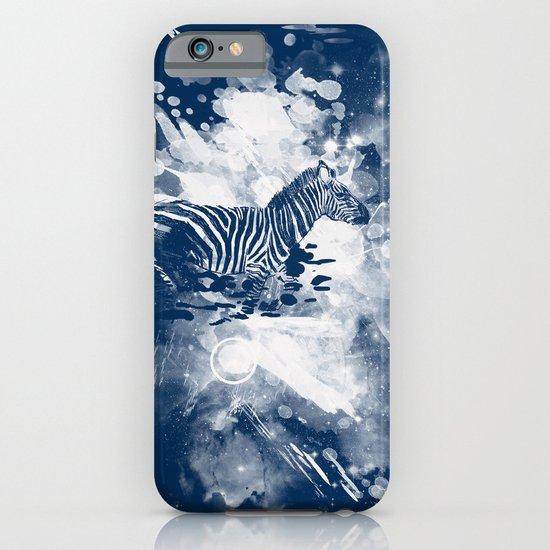 zebra splashed  iPhone & iPod Case