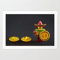 Nacho, Nacho Man Art Print