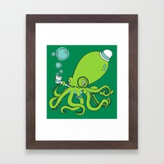 Mr.Octopus Framed Art Print