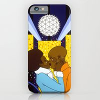 iPhone & iPod Case featuring New York Kiss by Anna Shipside