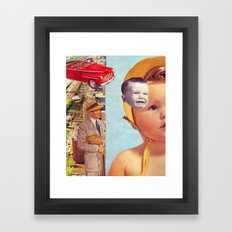 The Architecture Framed Art Print