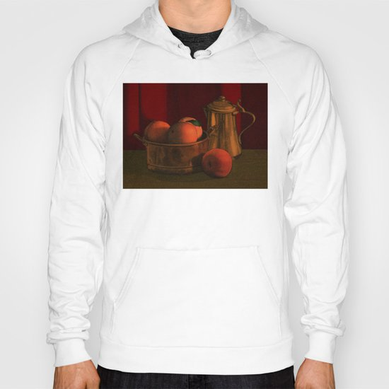 Still life with peaches Hoody
