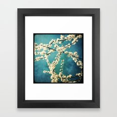 Waiting for Spring to Bloom Framed Art Print
