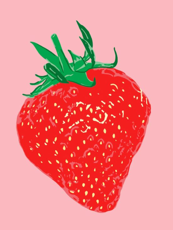 Strawberry, 2013. Art Print