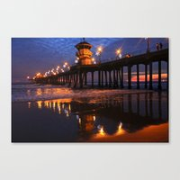 Surf City Canvas Print