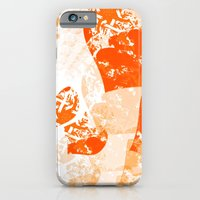 Heart - Orange iPhone 6 Slim Case