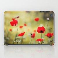 Wild Anemones iPad Case