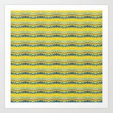 Lemon summer  Art Print