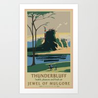 Thunder Bluff Classic Ra… Art Print