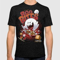 Boo Bites Mens Fitted Tee Tri-Black SMALL