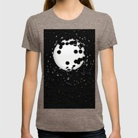 spheres Womens Fitted Tee Tri-Coffee SMALL