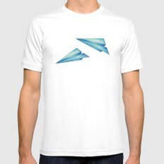 High Flyer SMALL Mens Fitted Tee White