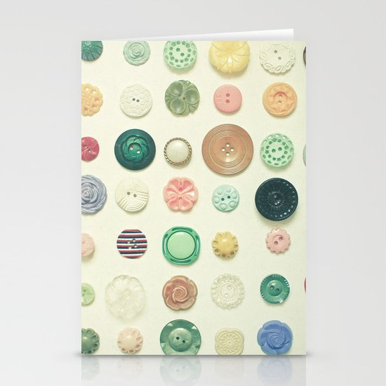 The Button Collection Stationery Card