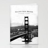 Golden Gate Bridge - San… Stationery Cards
