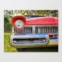 Up close and personal! Canvas Print