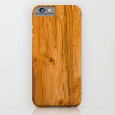 Teak Wood iPhone 6s Slim Case
