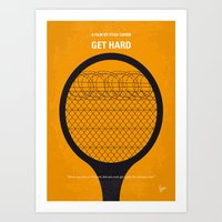 No594 My Get Hard Minima… Art Print
