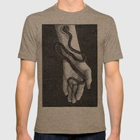 Parasite Mens Fitted Tee Tri-Coffee SMALL