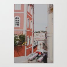 Summer in Lisbon Canvas Print
