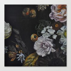 Autumnal in Black Canvas Print
