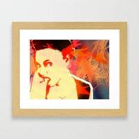 Firebrand X Framed Art Print