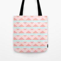 Pastel pattern Tote Bag