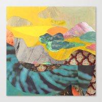 Yellow Sky Canvas Print
