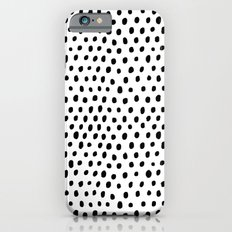 Polka dot rain Slim Case iPhone 6s