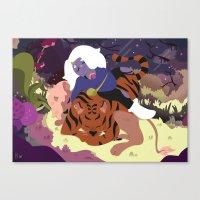 Amethyst Canvas Print
