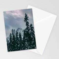 Cascade Winter Mountain Stationery Cards