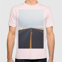 Endless Road Mens Fitted Tee Light Pink SMALL