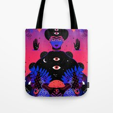 Noche Tropical  de Frida Tote Bag