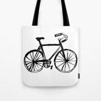 I Like Riding My Bicycle Tote Bag