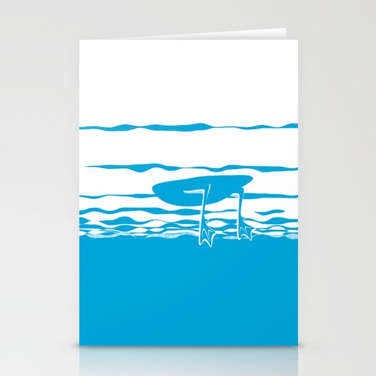 Partly Ducky Stationery Card