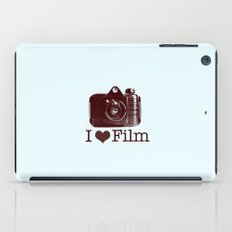 I ♥ Film (Maroon/Aqua) iPad Case