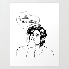 deception Art Print