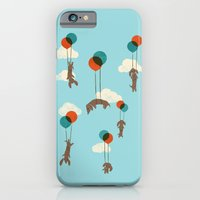 Flight of the Wiener Dogs iPhone 6 Slim Case