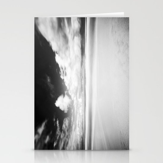 Long Exposure Seascape Stationery Card