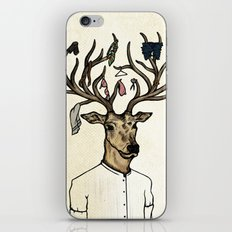 Evicted deer iPhone & iPod Skin