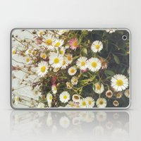 Wall Of Daisies Laptop & iPad Skin